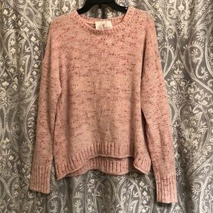 NWT Super Soft Pink Sweater
